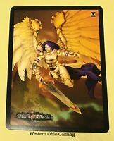 """MTG Magic Time Spiral Akroma, Angel of Wrath Promo 6"""" x 8"""" Card NEW"""