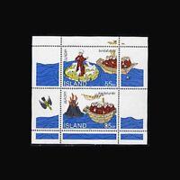 Iceland, Sc #781a, MNH, 1994 S/S, Europa, St Brendan, Sheep, IHI-9