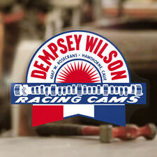 """Dempsey Wilson Cams sticker decal old school hot rod vintage drag racing 4"""""""