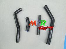 for YAMAHA YZ450F YZF450 2010-2012 10 11 12 Silicone Radiator Hoses Kit black