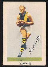 Kornies Richmond Tigers Single AFL & Australian Rules Football Trading Cards