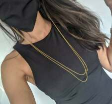 Mask Chain & Glasses Chain - 18ct Gold Plated Necklace (DOUBLE HOOP STYLE)