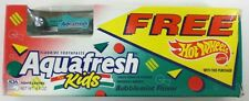1993 Hot Wheels Aquafresh Turbo Streak Indy Car Unopened Package