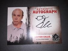 Sons Of Anarchy Authentic Autograph Card Of Dayton Callie As Chief Wayne Unser.