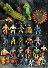 Lot He-man Action Figures MOTU Vehicle Accessories Vintage She-ra Parts Original