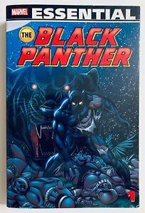 ESSENTIAL BLACK PANTHER Vol 1 TPB VERY RARE OOP HTF Kirby Marvel