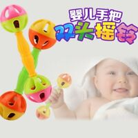 1PC Baby Toy Rattles Bells Shaking Dumbells Early Development Toys 0-12 Months