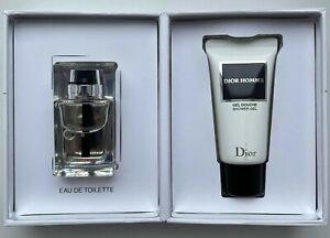 Dior HOMME SPORT EAU DE TOILETTE 10 ml SHOWER GEL 20 ML MINIATURE VIP GIFT SET