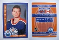 2015 SCA Wayne Cowley Edmonton Oilers goalie never issued produced #d/10
