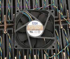 AVC 80*80*15MM 8CM DS08015B12H 12V 0.50A 4Pin Cooling Fan