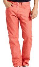 Levi's Men's 501 Shrink To Fit STRAIGHT LEG Jean Marsala W32 L36 MSRP $ 69.50