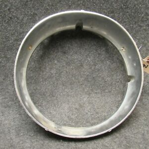 1973-1975 Chevy Monte Carlo LH Diecast Chrome Headlight Bezel Trim Ring OEM 6708