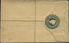 MAURITIUS QV 8c small size registered envelope unused..............19269