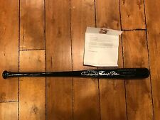 Stick by Stan 1999 Bobby Abreu commemorative bat signed WITH COA FROM PHILLIES