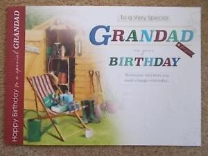 TO A VERY SPECIAL GRANDAD BIRTHDAY CARD TOP QUALITY