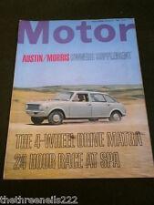 MOTOR MAGAZINE - 4WD MATRA - AUG 2 1969