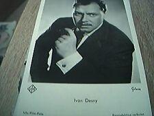 postcard old unused hollywood film r/p ivan desny photo