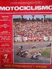 Motociclismo n°7 1971 Test Greeves Pathfinder 175 - Mondial Cross V6 50 [GS50]