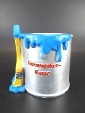 Spardose Heimwerker Farbtopf Pinsel blau Sparschwein 11 cm,Money Box Bank
