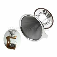 Mesh Pour Over Cone Dripper Coffee Filter Stainless Steel Cup Stand Tea Strainer