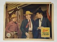 1937 Yodelin' Kid from Pine Ridge 11x14 Lobby Card Gene Autry Betty Bronson