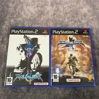 Soulcalibur II & III PS2 PlayStation 2 Game Bundle Namco Fighters Soul Calibur
