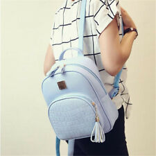 Lady Backpack Simple School Small Bags Teenager Girls Sequined Preppy Style S
