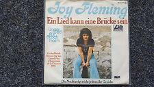Joy Fleming - Ein Lied kann eine Brücke sein 7'' Single EUROVISION 1975