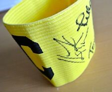LIVERPOOL Multi Signed Captains Armband Autograph x5 Beardsley Hansen PROOF COA