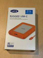 More details for lacie rugged 2 tb, external hard drive: usb c - 3 and thunderbolt - 5400 rpm