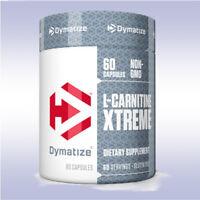 DYMATIZE L-CARNITINE XTREME (60 CAPSULES) 100% pure pharmaceutical extreme grade