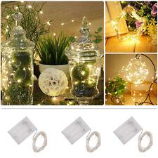 10ft 3M Warm White Mini 30LED String Fairy Lights Battery Powered Christmas Part