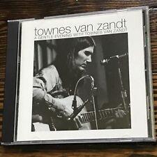 A Gentle Evening with Townes Van Zandt - Townes Van Zandt - Audio CD