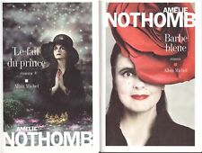 AMELIE NOTHOMB LE FAIT DU PRINCE + BARBE BLEUE + PARIS POSTER GUIDE