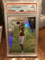 PSA 9 2019 Panini Passing the Torch Dwayne Haskins Rookie RC 04/10 Gold Redskins