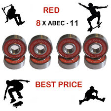 8 Abec 11 608 wheel bearings stunt scooter Skateboard Quad inline roller skate 9