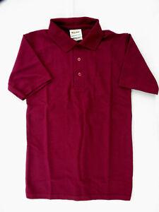 Boys Tulane Burgundy or Yellow S.S. Pique Polo Shirts Sizes Sm(7/8) - XL(18/20)