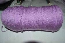 Southern Belle Mill End Yarn 11 oz Lilic Purple 4 Ply Acrylic Color per Photo