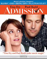 Admission - Blu-ray/DVD Digital code maybe expired ! Tina Fey, Paul Rudd - NEW