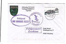 2002 UN MISSION SFOR in EREBINO+cancel EREBINO HoHE 609 FELDPOSTAMT+Coat of-K514