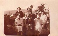 ISTRIA - POLA - RARA E INTERESSANTE FOTOGRAFIA - 1922