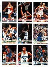1993-94 NBA Hoops Basketball Series 2 complete card set: #301-421