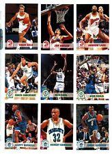 1993-94 NBA Hoops Basketball Series 2 complete base set + MB1 + Hoops scoops
