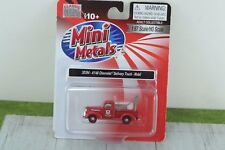 CMW Mini Metals 30394 41/46 Chevrolet Delivery Truck MOBIL  HO Scale 1:87