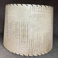 Vintage Mid Century Modern Atomic Fiberglass Lamp Shade
