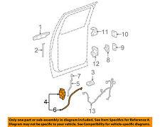 GM OEM Rear Door-Lock Actuator Motor 25876394