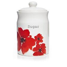 Poppy Fields Sugar Canister, New