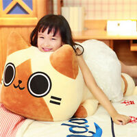 32'' Huge Cat Pillow Plush Big Kawaii Toy Soft Stuffed Animal Cushion Doll Gifts