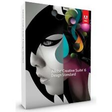 Adobe Creative Suite cs6 design standard tedesco Mac pieno BOX IVA RETAIL NUOVO