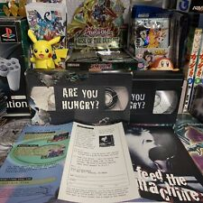 ARE YOU HUNGRY? 1995 Sony Playstation VHS Promo Tape w/Box Vintage Videotape